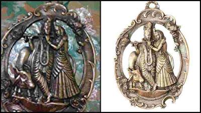 Radha Krishna Ornament Statue