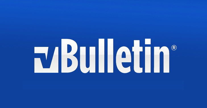 vBulletin Releases Patch Update for New RCE and SQLi Vulnerabilities