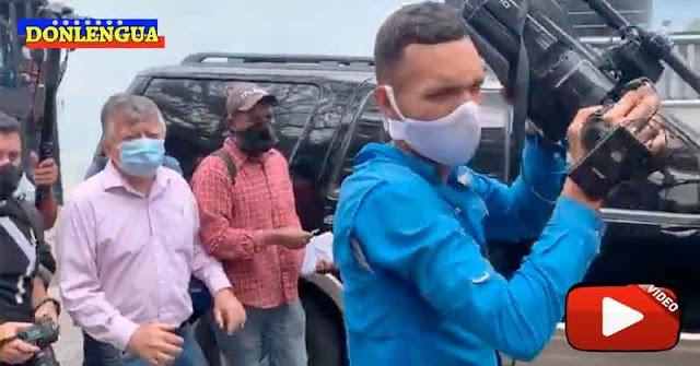 Falsos reporteros agredieron a Juan Guaidó y a su equipo de trabajo