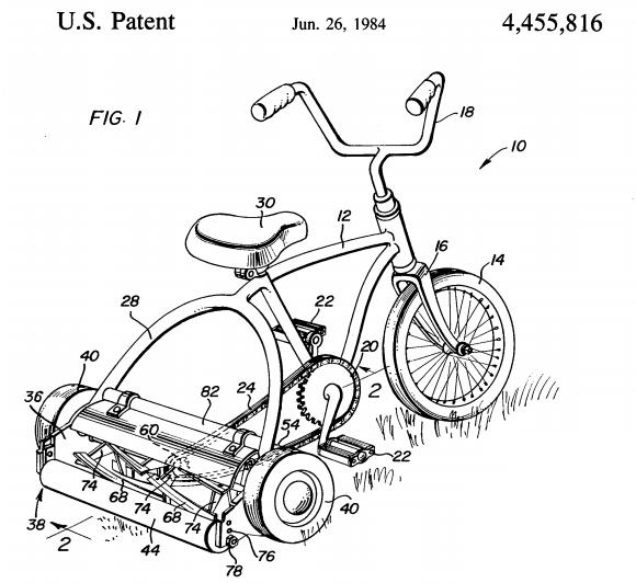 U.S. Patent 4,455,816 Figure 1