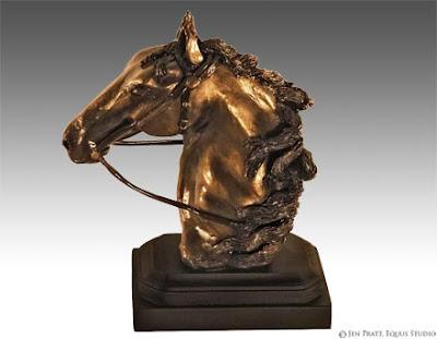 horse sculptures, horse artworks, equine art
