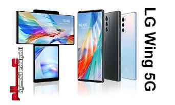 مواصفات إل جي LG Wing 5G الإصدارات: LMF100N, LM-F100N مواصفات إل جي LG Wing 5G ، سعر موبايل/هاتف/جوال/تليفون إل جي LG Wing 5G