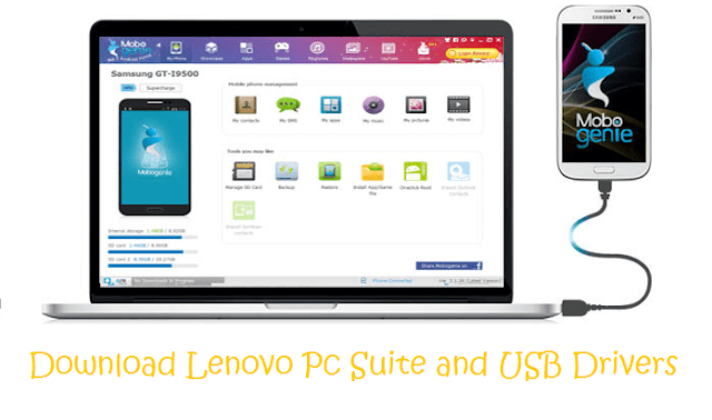 Lenovo-pc-suite-usb-drivers-download