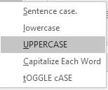 Cara Merubah Huruf Kecil Menjadi Huruf Kapitas Secara Otomatis di Word