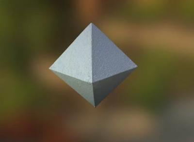 Многогранники из бумаги: октаэдр