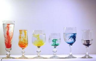 Copas y colores del arco iris