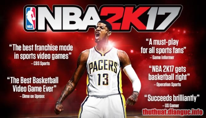 Download Game NBA 2K17 Full Crack – Game Bóng Rổ PC