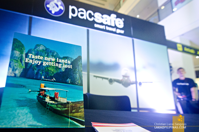 Pacsafe Philippines Flagship Store Launch