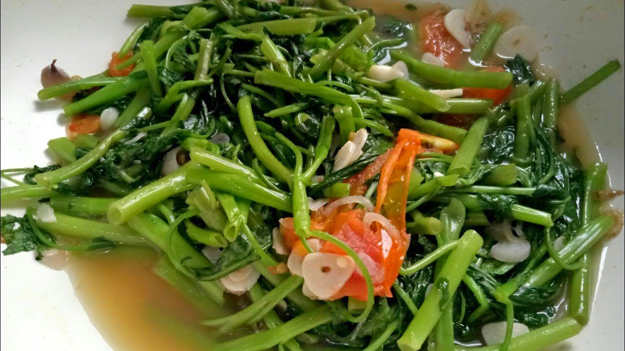 Cara membuat tumis kangkung terasi enak (youtube.com)
