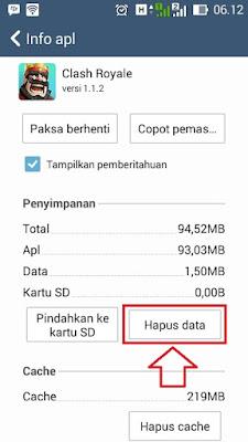 Bermain 2 Akun Clash Royale di HP Android Yang Sama