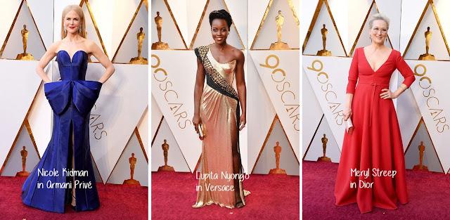 Oscar Ödül Töreni Elbiseleri ve Kazananları