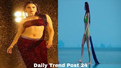 Akshay Kumar Heroine Tamanna Bhatia walks on Beach in Bikini Picture | Tamanna Bhatia images