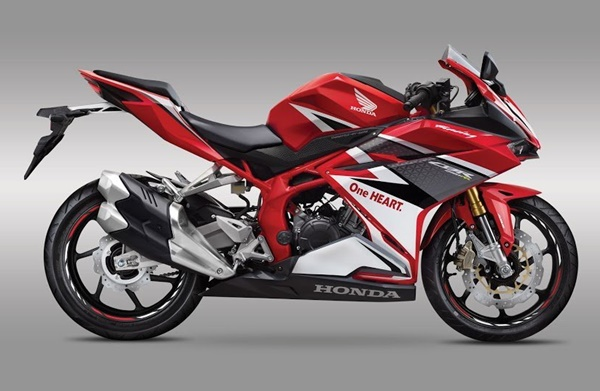 All New CBR250RR Racing Red