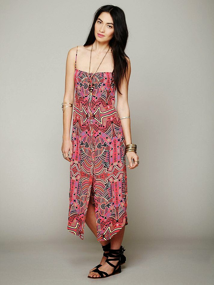 Mara Hoffman Mola Buttondown Tank Dress at Free People Clothing Boutique