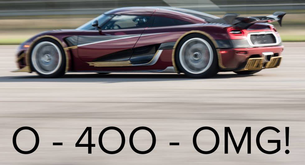 Koenigsegg Breaks Bugatti's Speed Record