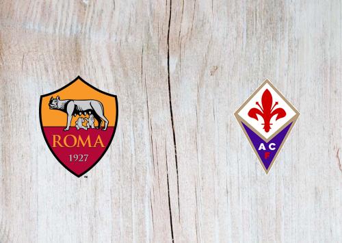 Roma Vs Fiorentina Highlights 26 July 2020 Football