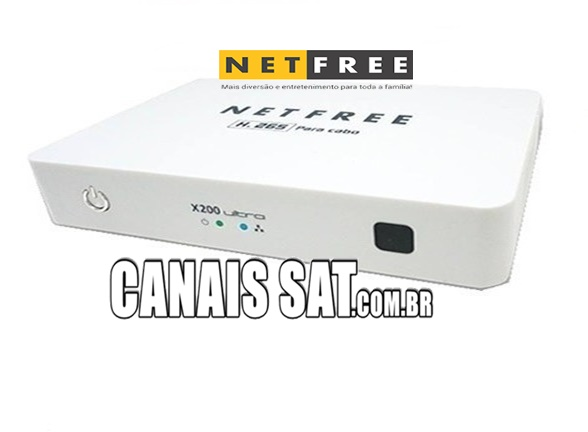 Netfree X200 Ultra Nova Atualização V007 - 09/05/2020