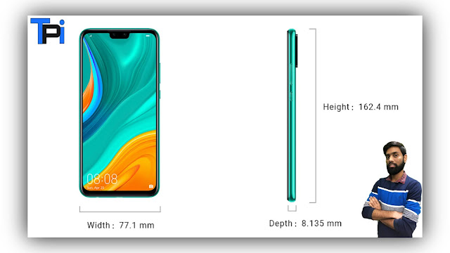 Huawei y8s price