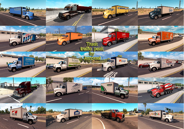 ats truck traffic pack v2.1 screenshots 3