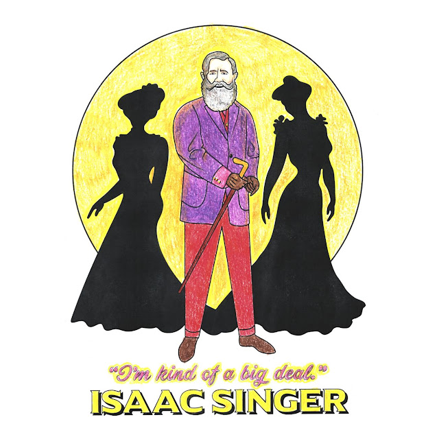 Isaac Singer Coloring Page