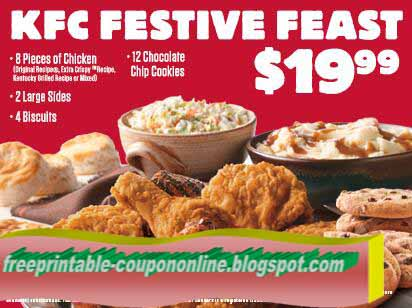 Printable Coupons 2018: Kfc Coupons