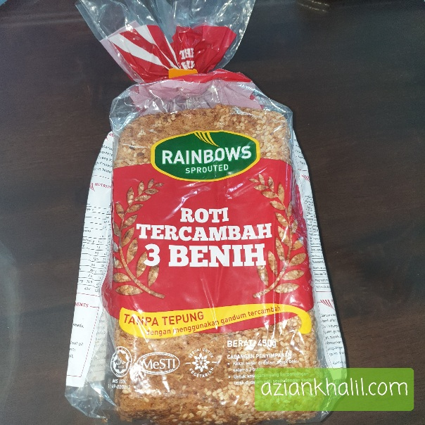 Roti Tercambah 3 Benih