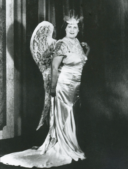 the real Florence Foster Jenkins in angel drag
