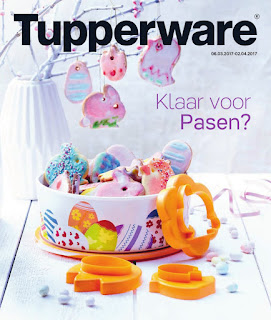 Tupperware Folder 6 März –  2 April 2017