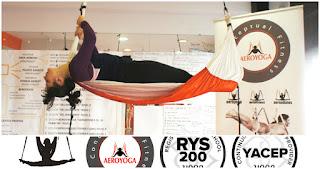 aeroyoga, aeroyoga valencia, yoga aereo, air yoga, cursos, formacion, profesores, castellon, alicante, xativa, benidorm, javea, aeropilates, pilates aereo, columpio, certificacion, diploma