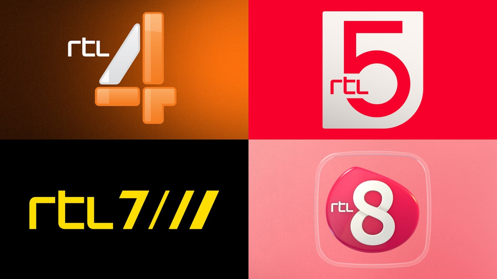 the branding source big and small logo changes for rtl netherlands. Black Bedroom Furniture Sets. Home Design Ideas