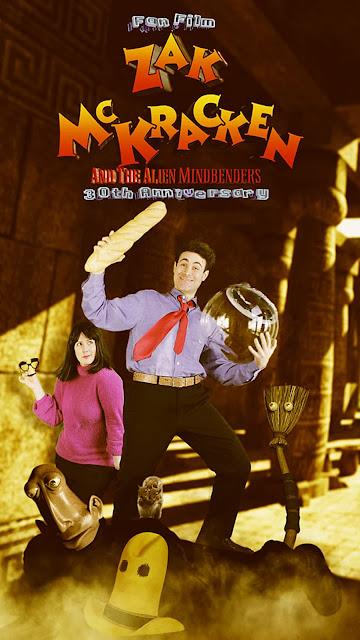 Póster película Zak McKracken and the Alien Mindbenders - Fan Film