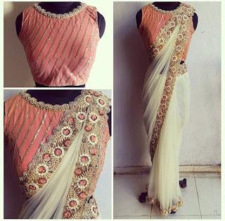designer blouse patterns for silk sarees