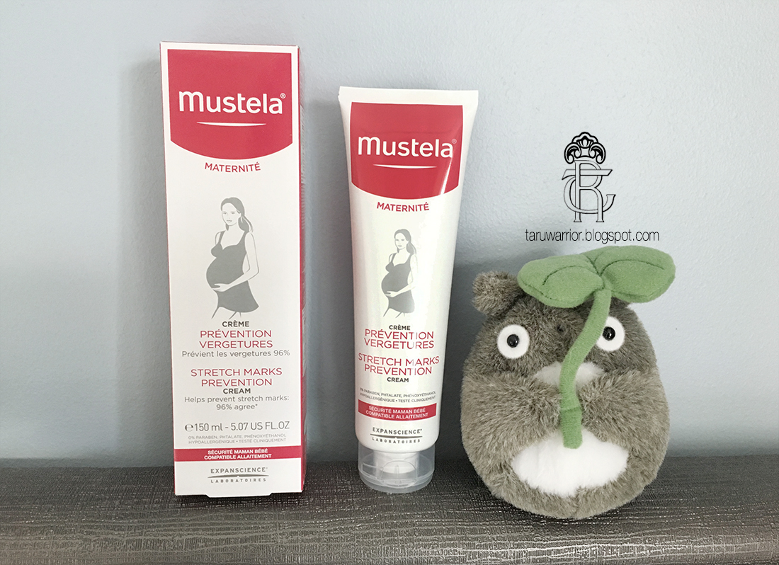 Ivf Blog By Taru Mustela Stretch Marks Prevention Cream Review