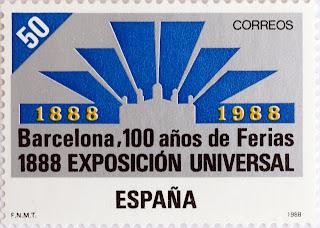 I CENTENARIO DE LA EXPOSICIÓN UNIVERSAL DE BARCELONA