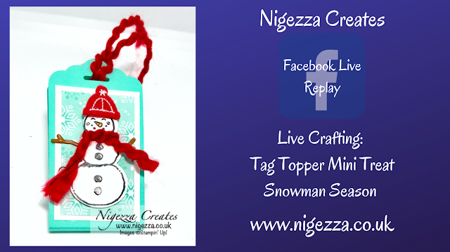 Nigezza Creates With Stampin' Up! & Snowman Season