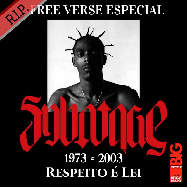 BIG MC TCHÊ lança FREE VERSE especial em homenagem a morte do lendário SABOTAGE .