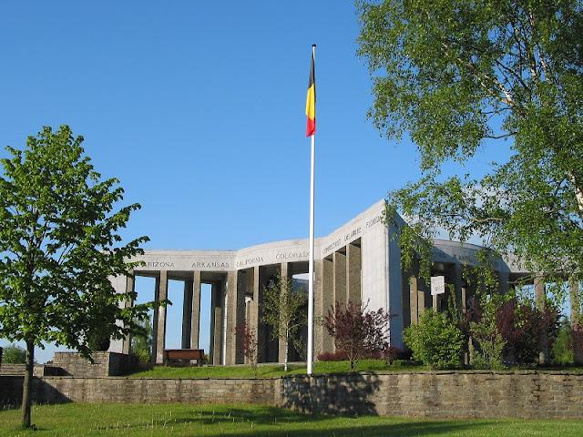 Bastogne na Bélgica