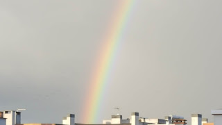 (Almost) Wordless Wednesday - rainbows