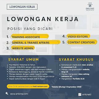 5 Lowongan di PT SML One Indonesia