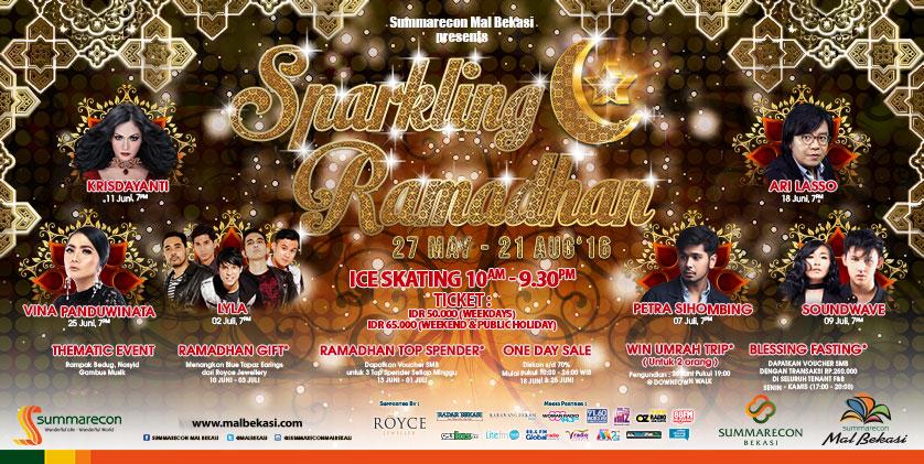 SPARKLING RAMADHAN – Event Mall Sumarecon Bekasi Ramadhan 2016