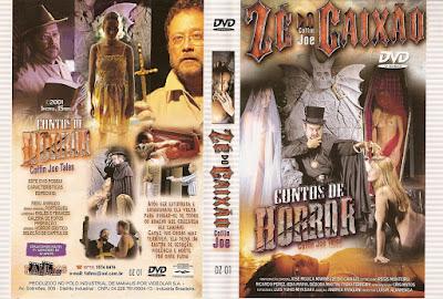 Filme Contos De Horror DVD Capa