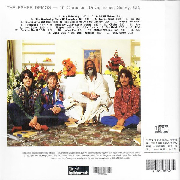 Rock Anthology: The Beatles – The Esher Demos (2008)FLAC