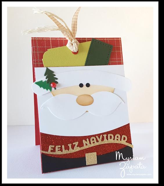 Tarjeta_Navidad_Santa_Claus