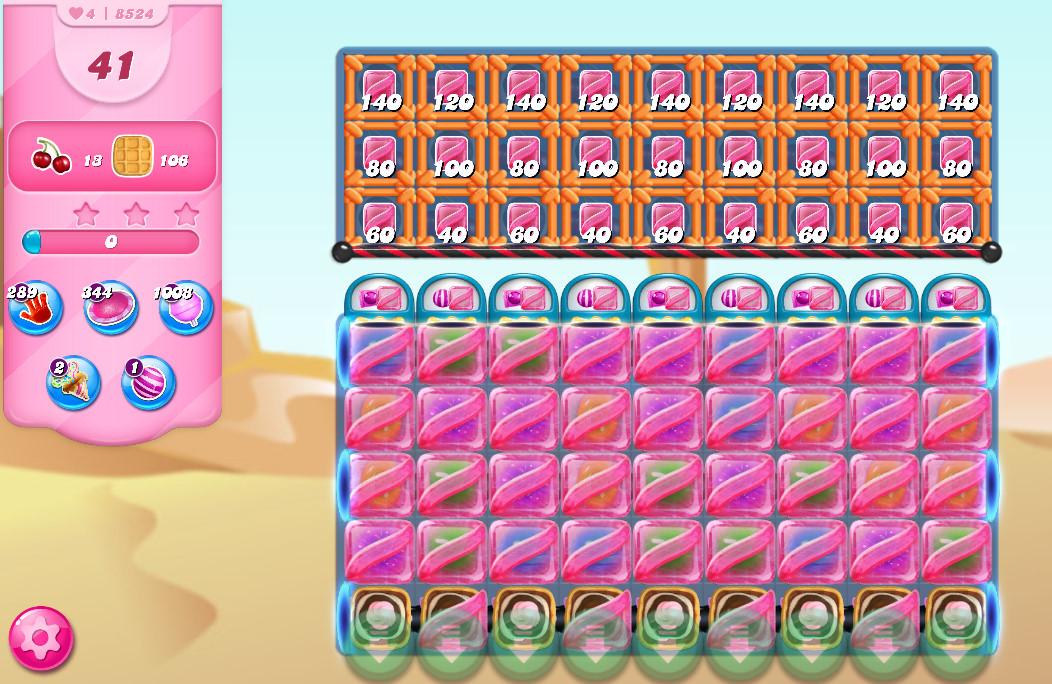 Candy Crush Saga level 8524