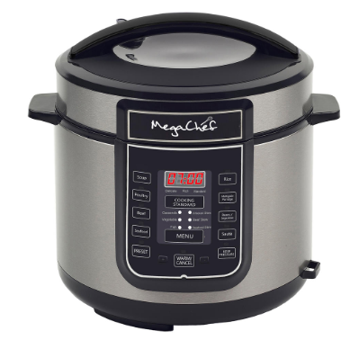 SEARS - 6 Quart Digital Pressure Cooker with 14 Pre-set Multi Function Features $64.96