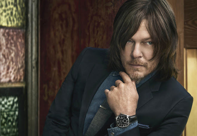 Cartier with Norman Reedus