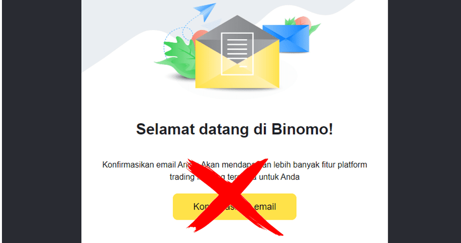 Verifikasi Data Binomo