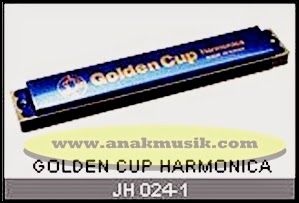 Harmonika Golden Cup JH024 Blue