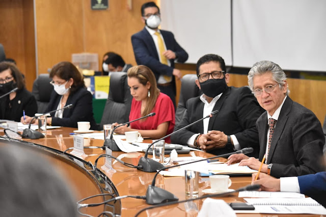 Integrantes de la Comisión de Vigilancia cuestionan al auditor especial de la ASF sobre cancelación del proyecto del Aeropuerto de Texcoco