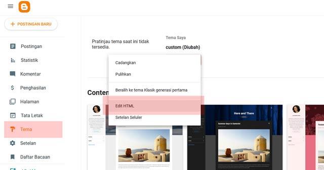 Cara Mengatasi Duplikat Meta Deskripsi Di Blogger